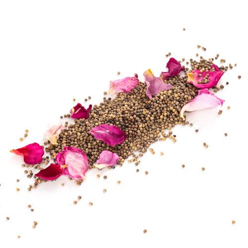 Caviar de poivre à la rose de Grasse Grains
