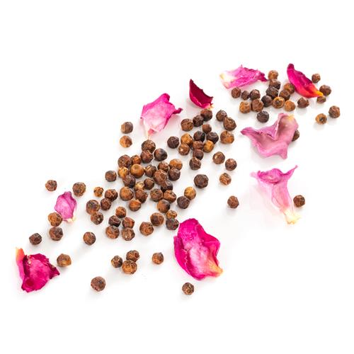 Recharge de poivre rouge de Pondichéry à la rose