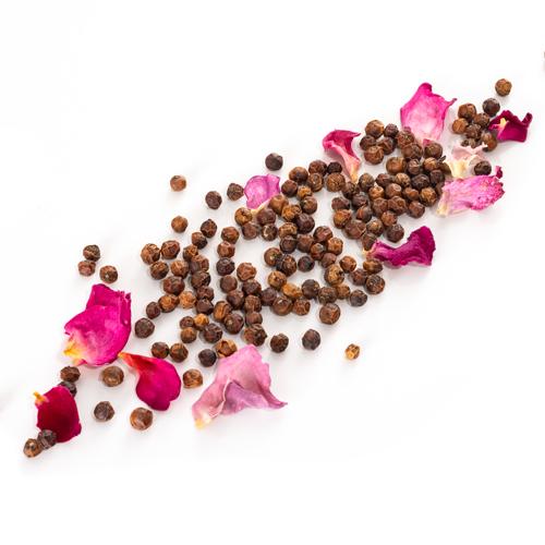 Recharge de poivre rouge de Kérala à la rose de Grasse