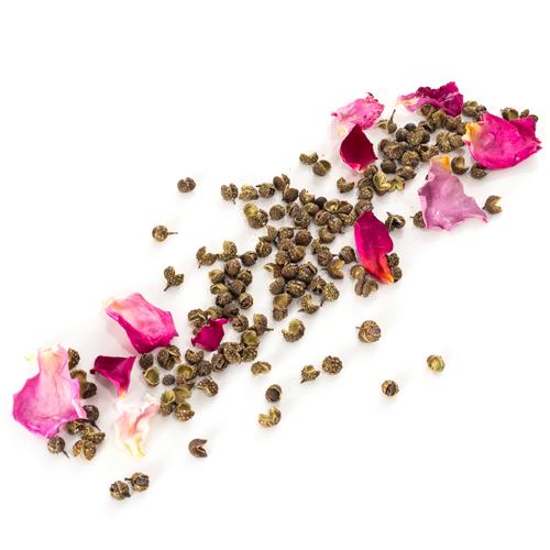 Recharge de poivre vert de Sichuan à la rose de Grasse grains
