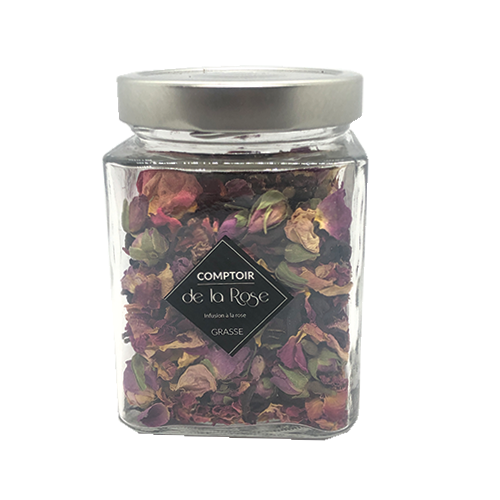 infusion rose hibiscus comptoir de la rose