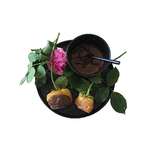 recette beignet à la rose comptoir de la rose