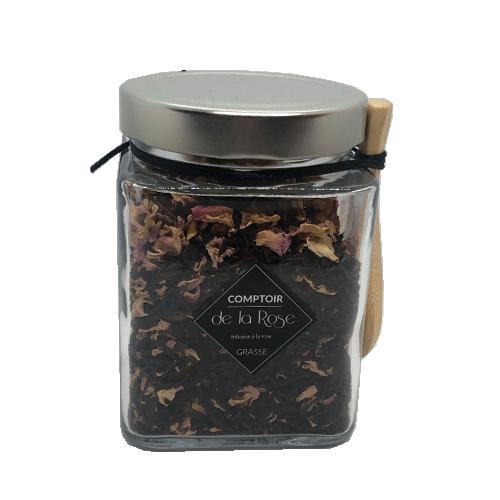 thé noir bio à la rose Centifolia