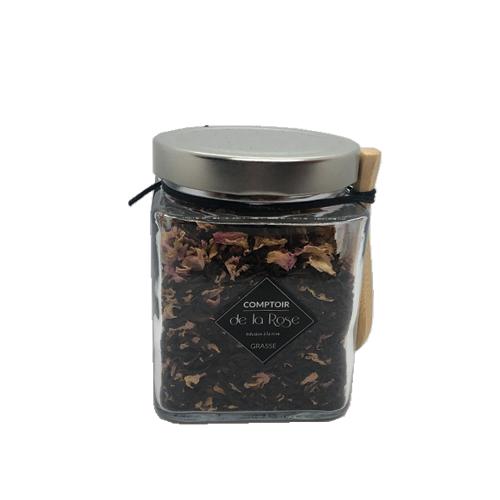 thé noir à la rose centifolia