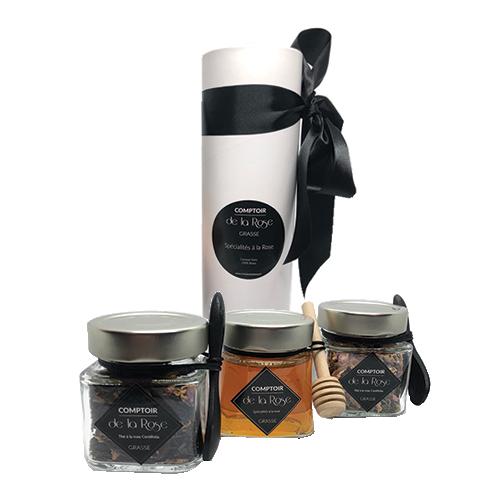trio tea time à la rose centifolia comptoir de la rose